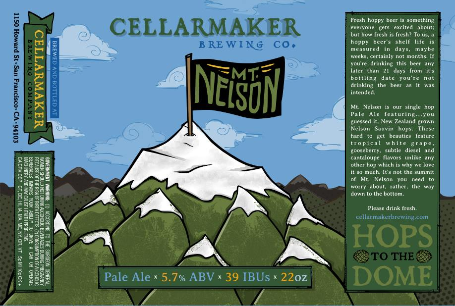 Mt. Nelson Pale Ale ~ Sold Out
