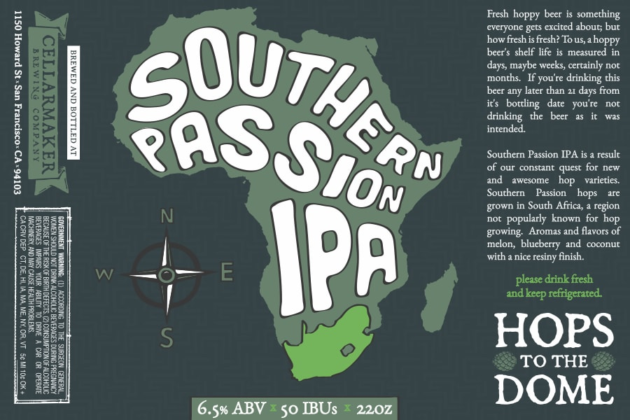 Southern Passion IPA Bottles – Sold Out