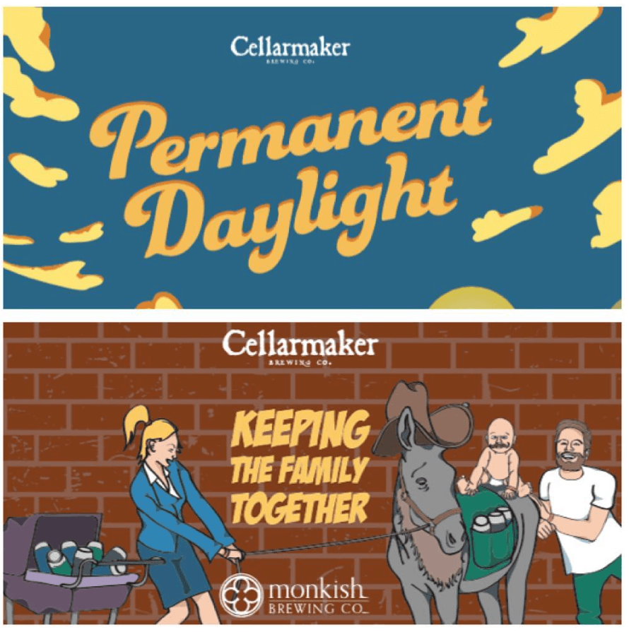 Keeping The Family Together & Permanent Daylight  Cans ~ Sold Out