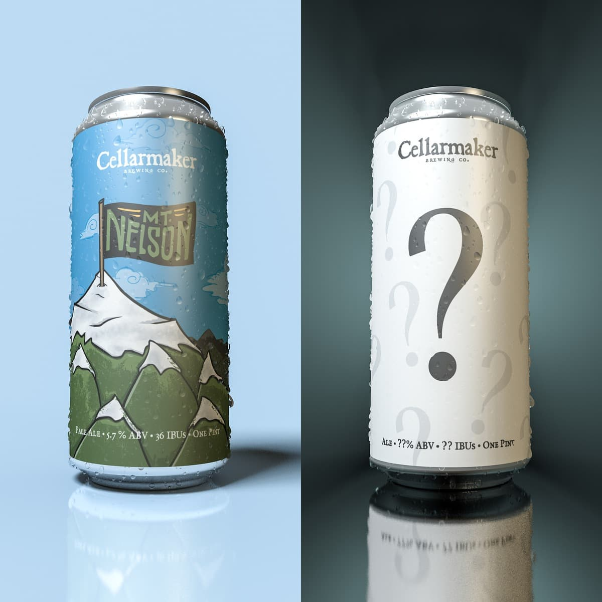 Mt. Nelson & Juice Gymnastics Cans ~ Sold Out