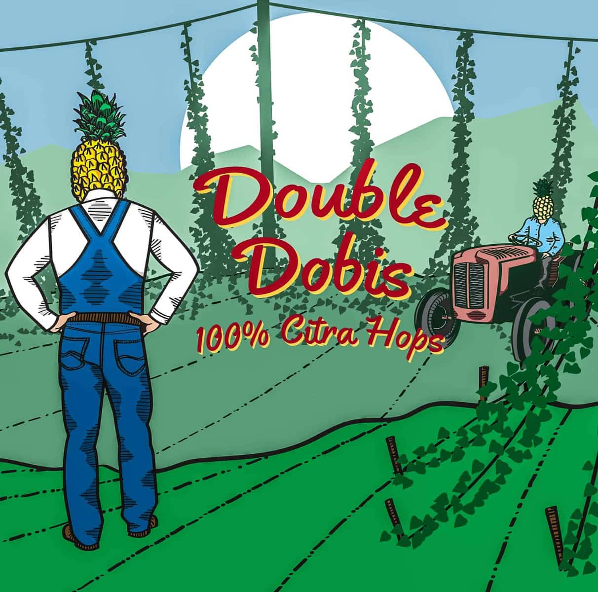 """Moonage Daydream"" Pale & ""Double Dobis"" DIPA Cans ~ Sold Out"