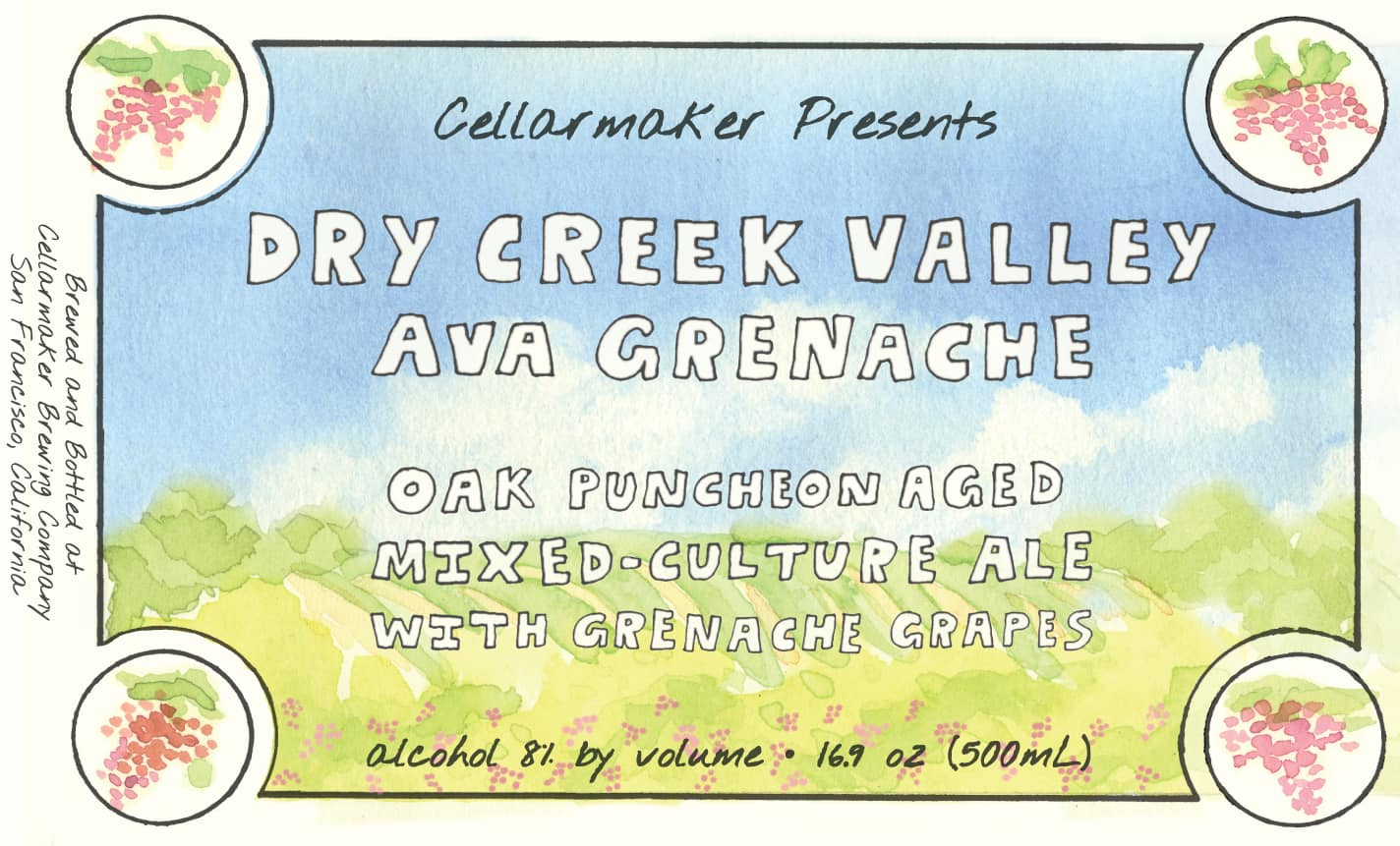 Dry Creek Valley AVA Grenache Bottles ~ Sold Out