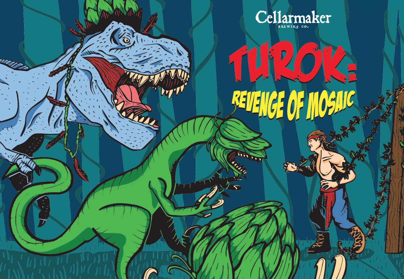 """Turok: Revenge Of Mosaic"" & ""Mt. Nelson"" Cans ~ Sold Out"