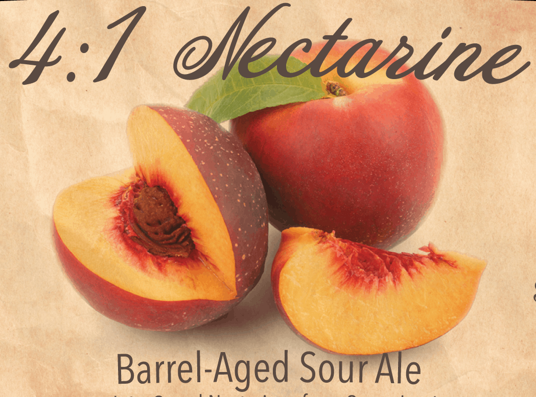 4:1 Nectarine Bottles – SOLD OUT