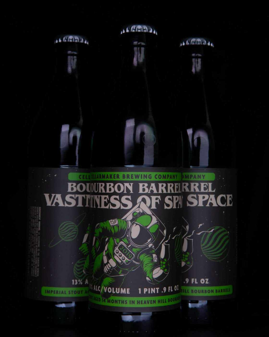 """Bourbon Barrel Vastness Of Space"" BB Aged Imperial Stout BOTTLES ~ SOLD OUT!!"