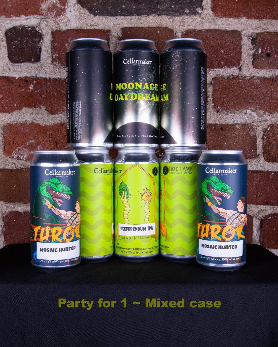 24 CANS Mixed Case! Moonage, Turok & Reeferendum ~ Shipping Tuesday 3/24