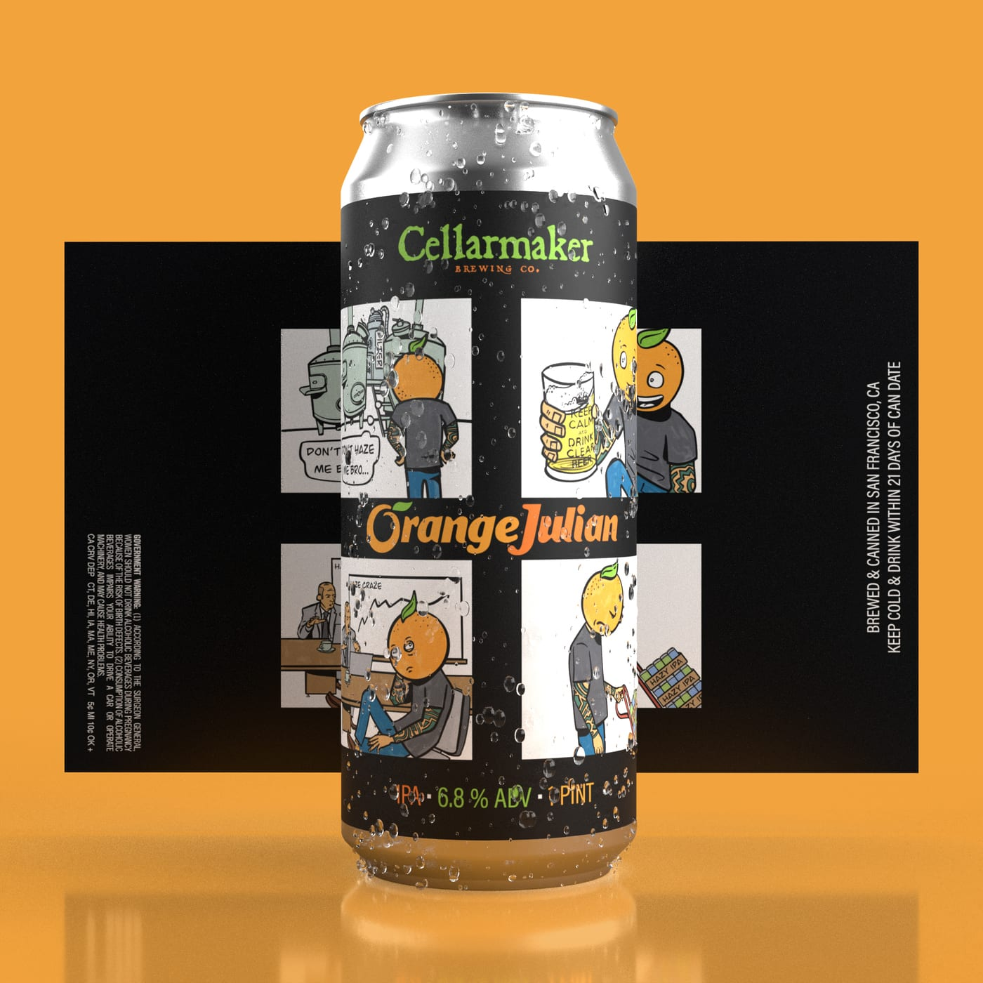 ORANGE JULIAN & IMPERIAL COFFEE & CIGS 1ST TIME IN CANS!!! + THE GLOW ~ SOLD OUT
