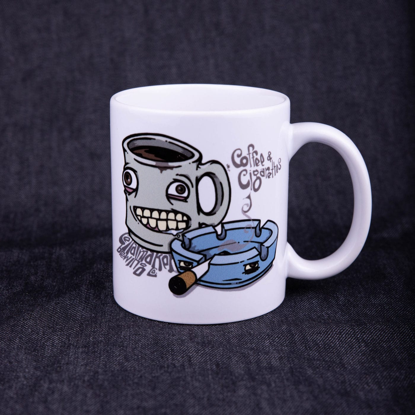 Coffee + Cigarettes Mug