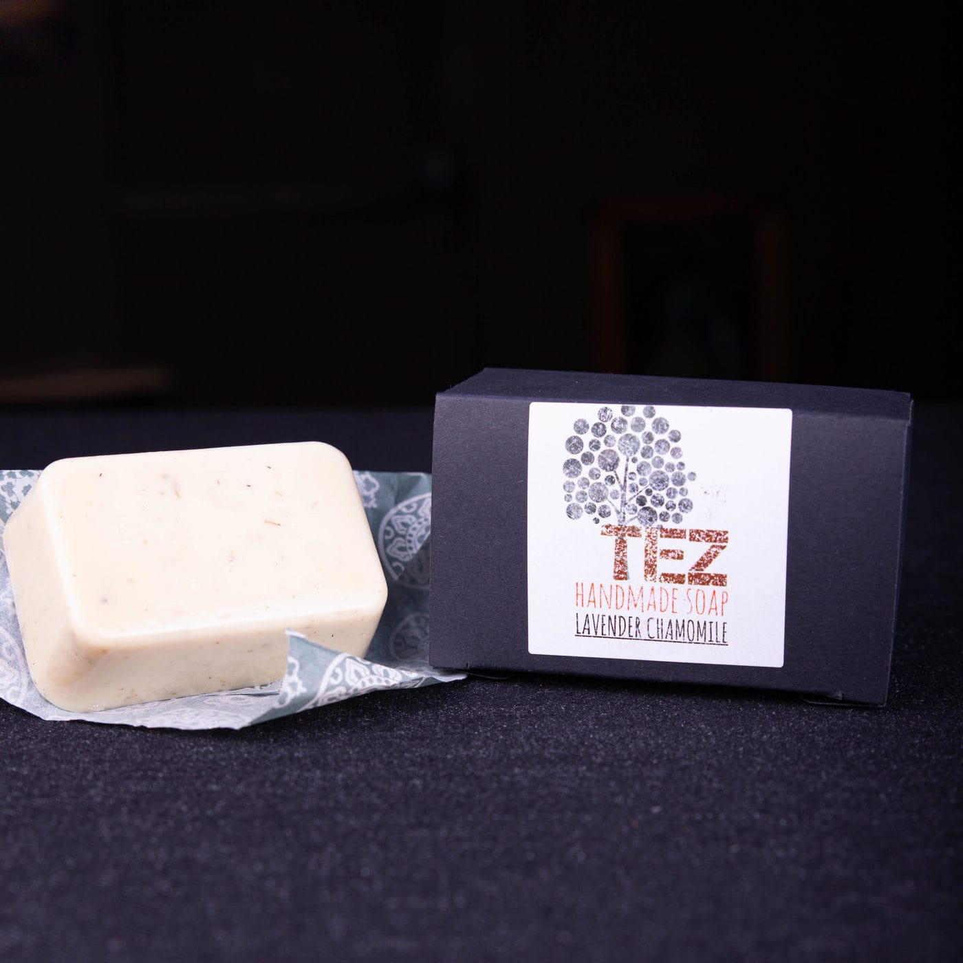 TEZ SOAP ~ Charcoal Peppermint