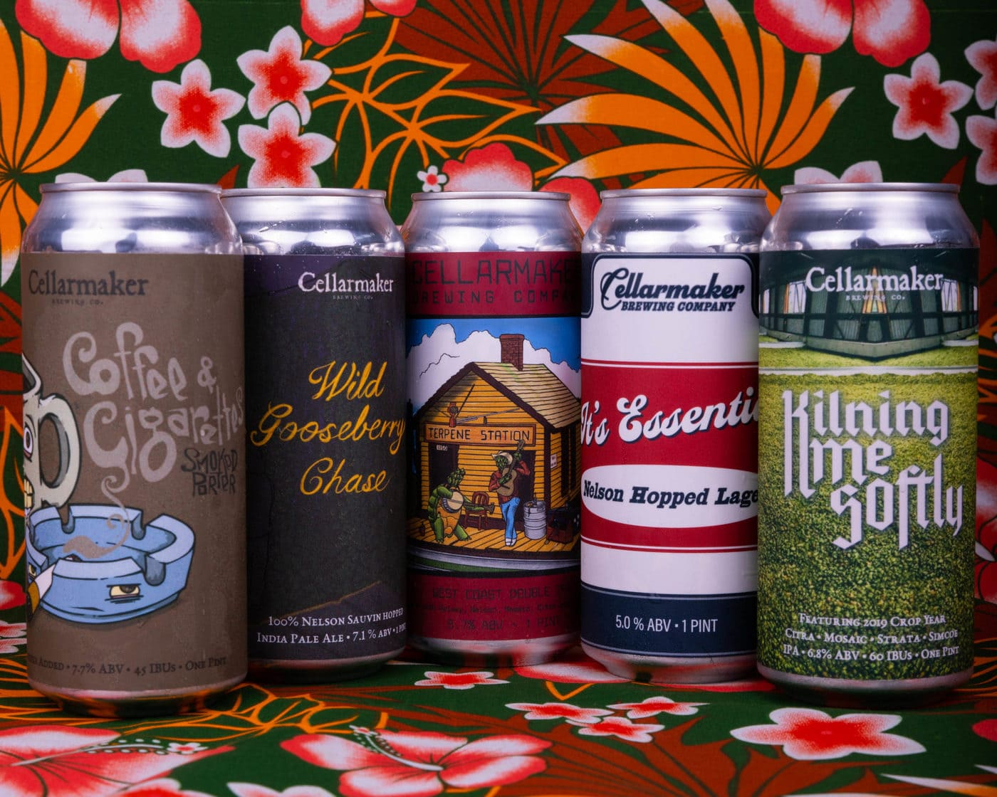 Taste The RAINBOW! It's Essential PILSNER & COFFEE & CIGS CANS ~ AVAILABLE