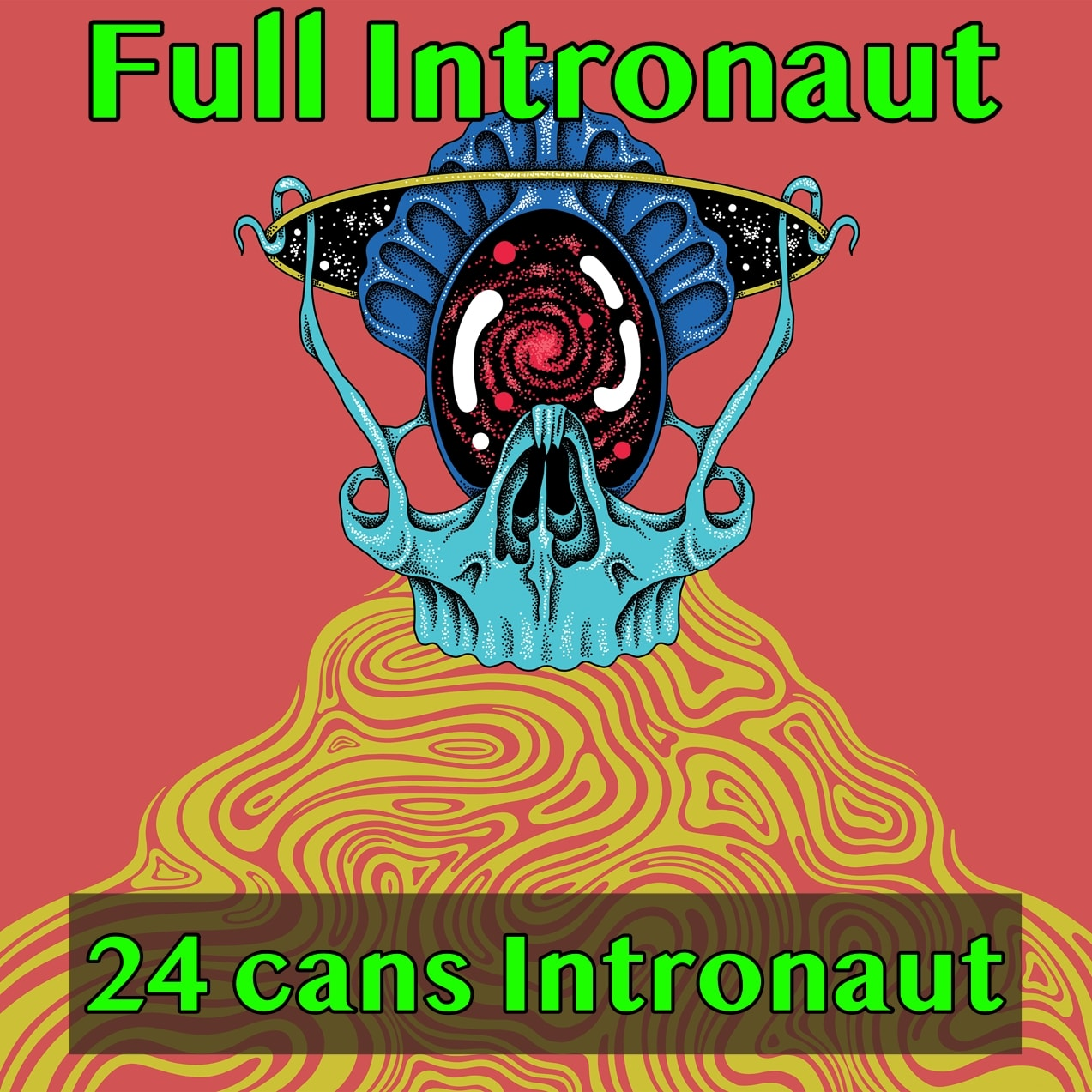 "I LOVE PALE ALE! FULL CASE ~ 24 CANS Of ""Intronaut"" Pale Ale ~ Collab With TIRED HANDS… SHIPPING Out On WEDNESDAY 9/23 For NEXT DAY Delivery*"