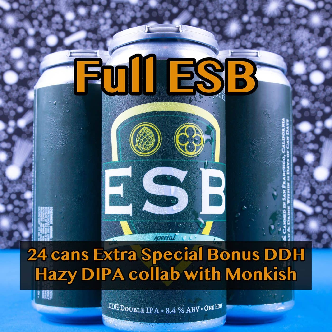 FULL CASE 24 CANS Extra Special Bonus DDH DIPA… SHIPPING Out On WEDNESDAY 12/2 For NEXT DAY Delivery*