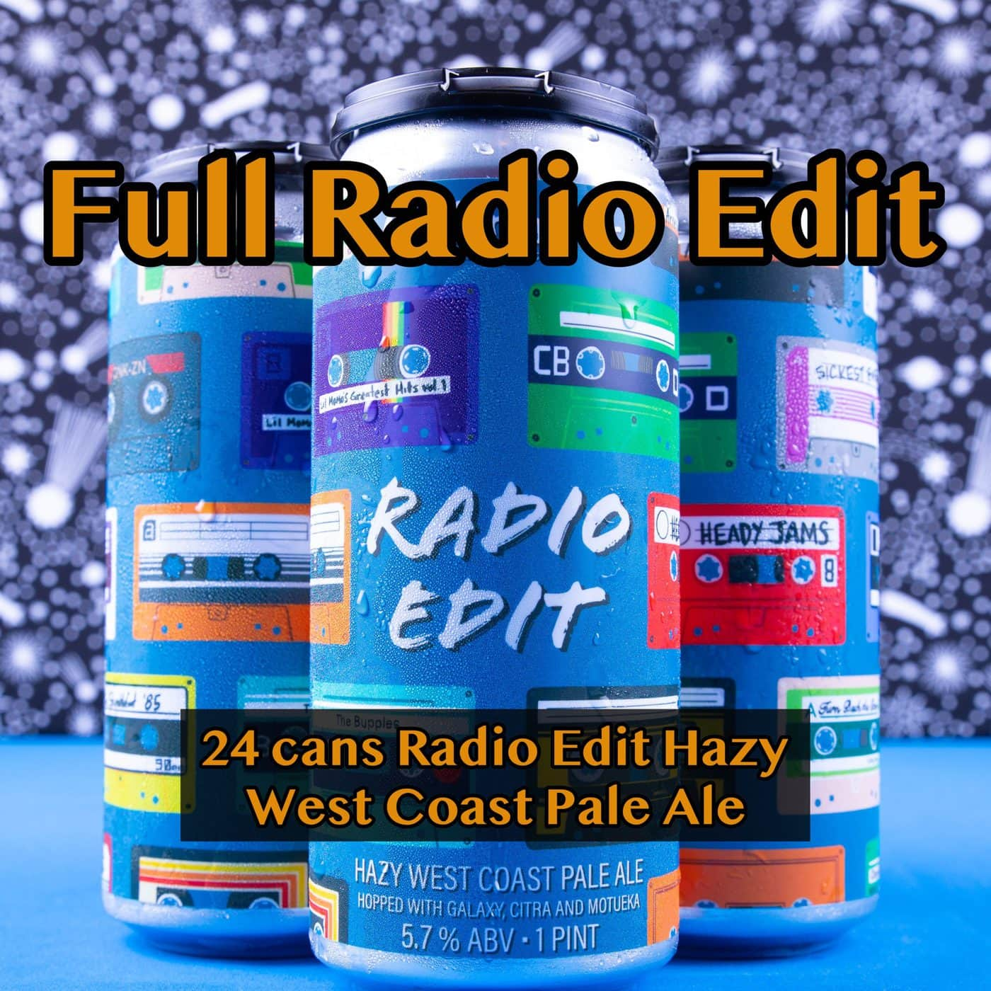 FULL CASE 24 CANS Radio Edit Pale Ale… SHIPPING Out On WEDNESDAY 12/2 For NEXT DAY Delivery*