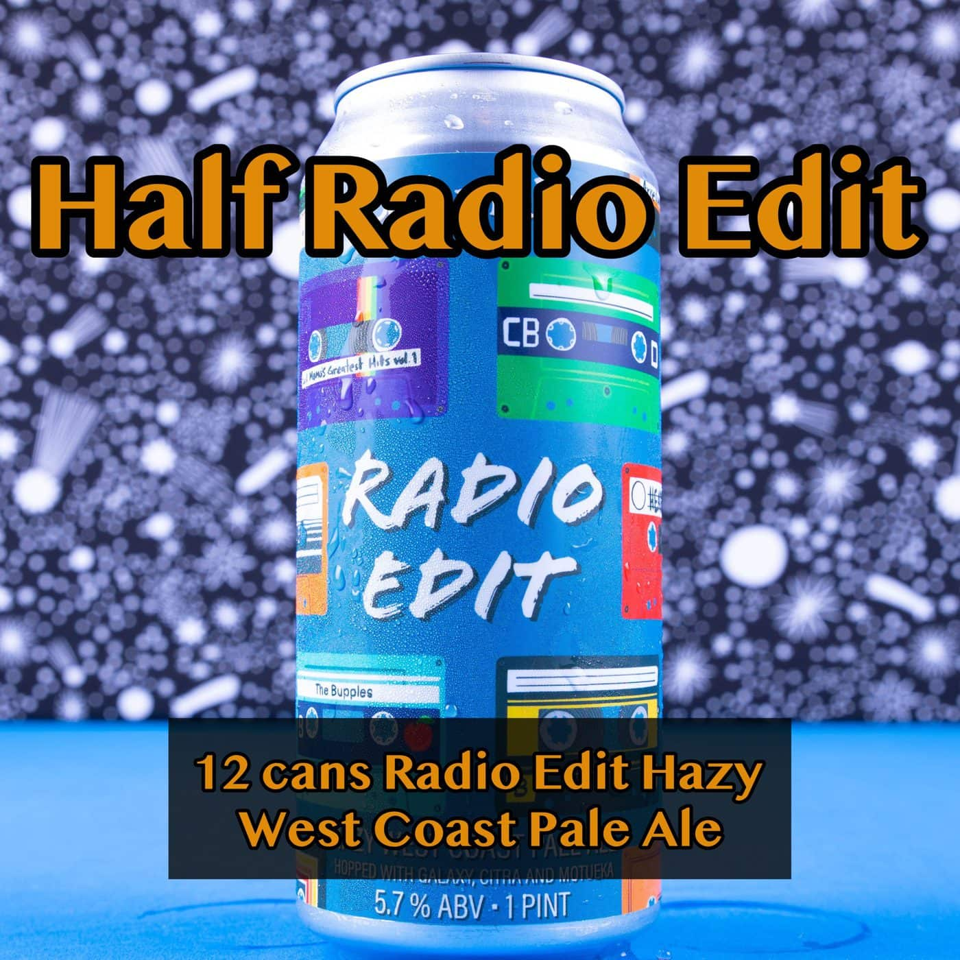 HALF CASE 12 CANS Radio Edit Pale Ale… SHIPPING Out On WEDNESDAY 12/2 For NEXT DAY Delivery*