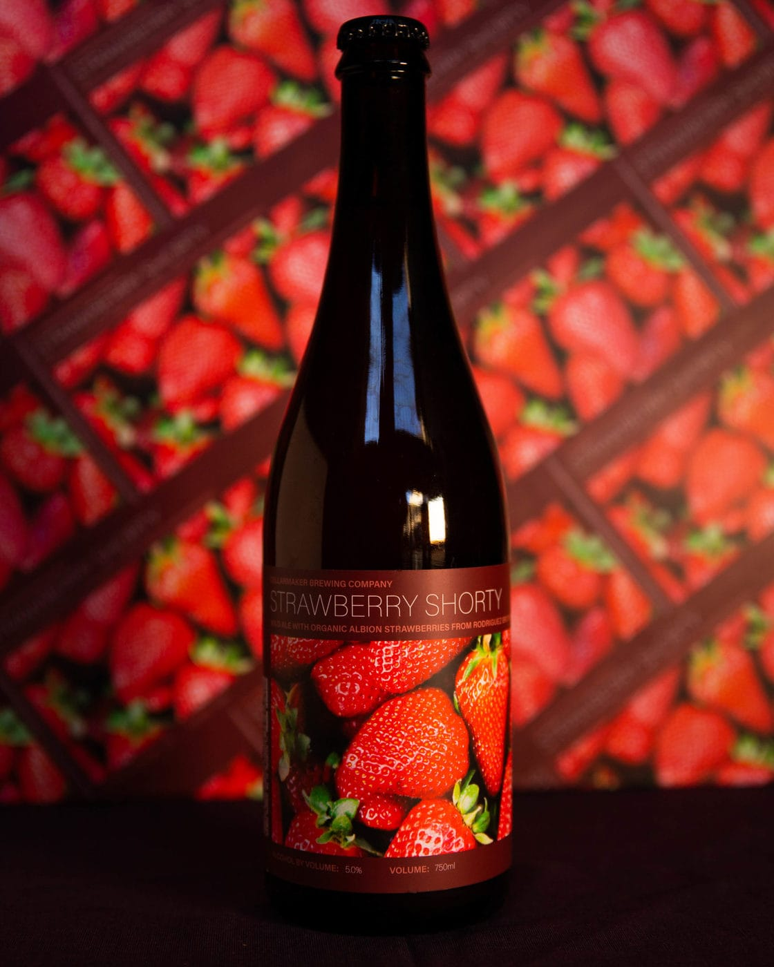 Bottle Strawberry shorty scaled