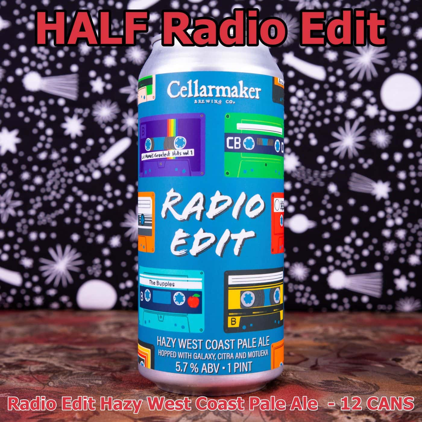 HALF CASE 12 CANS Radio Edit Pale Ale ~ Shipping Out For Next Day Delivery On Tuesday 1/19*