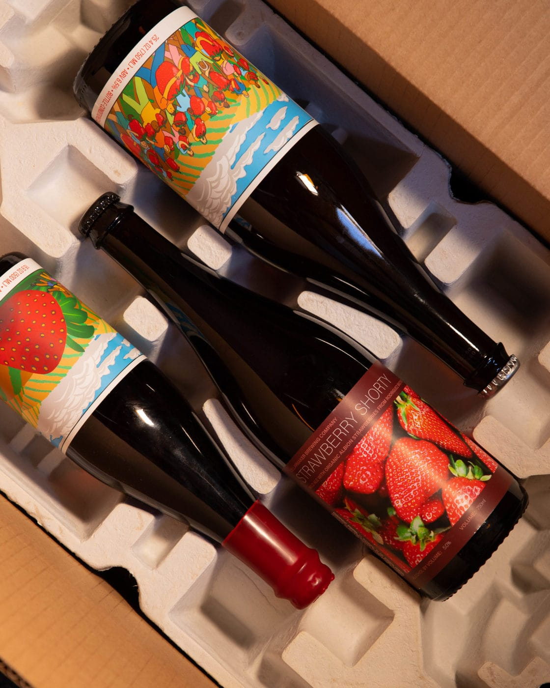 Strawberry 3 Ways ~ 3 Bottle Case ~ Double Strawberry Oblivion, Strawberry Oblivion And Strawberry Shorty ~ Shipping Out ASAP*