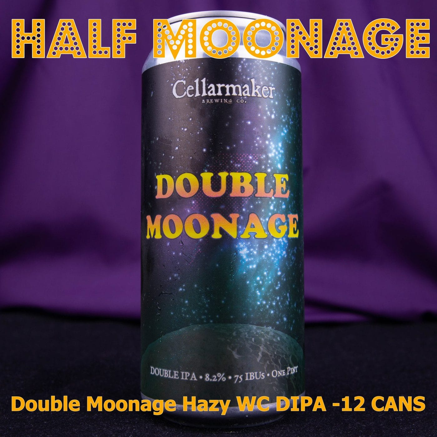 HALF CASE 12 CANS Double Moonage DIPA … SHIPPING Out On TUESDAY 1/12 For NEXT DAY Delivery*