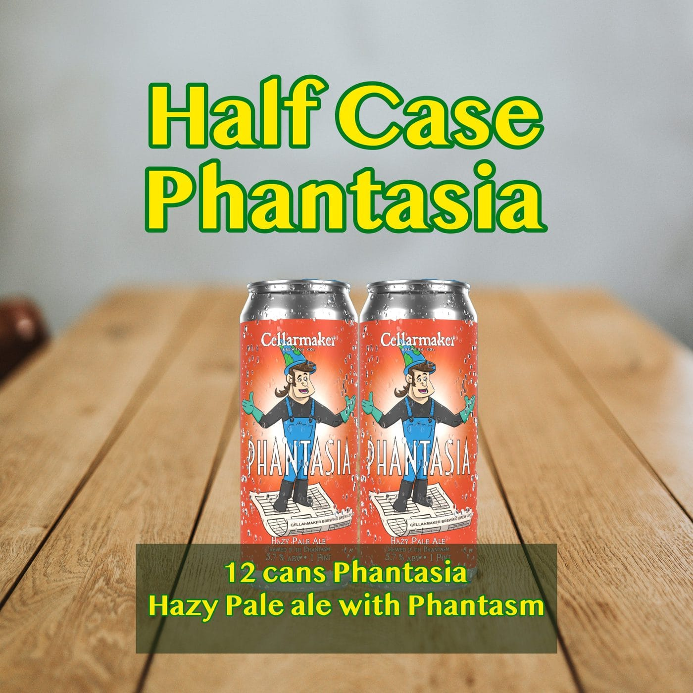 HALF CASE 12 CANS Phantasia New Hazy Pale Ale – Shipping Out Tuesday 3/2 For Next Day Delivery*