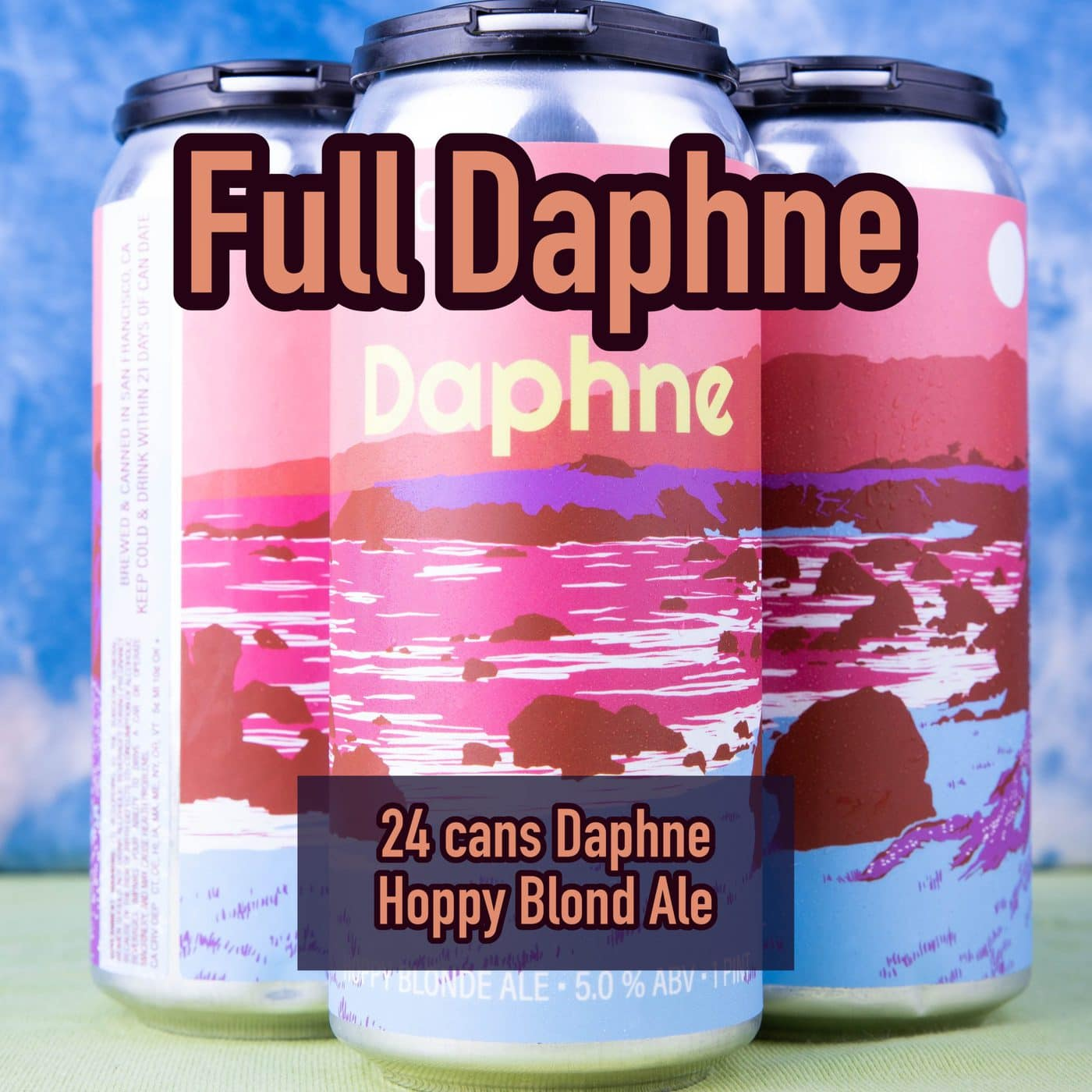 FULL CASE 24 CANS Daphne – Hoppy Blonde  –  Shipping Out ASAP*