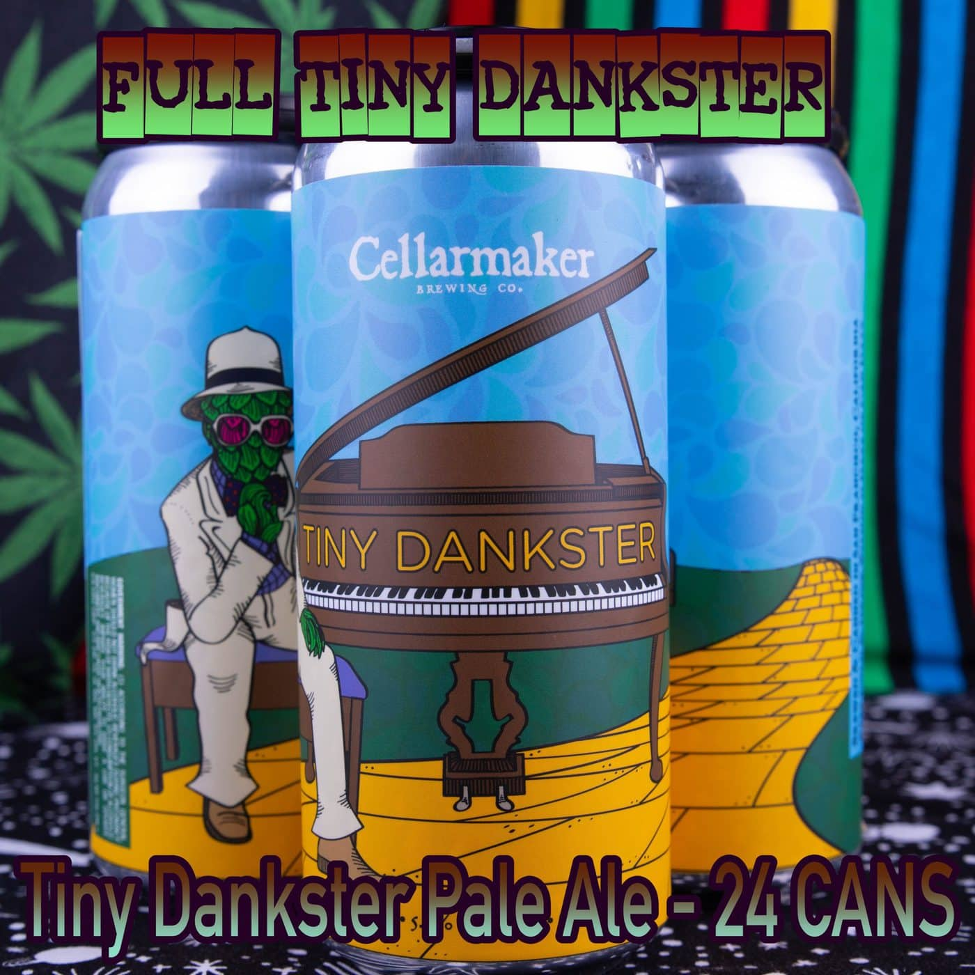 FULL CASE 24 CANS Tiny Dankster Pale Ale – Shipping Out Tuesday 4/13 For Next Day Delivery*