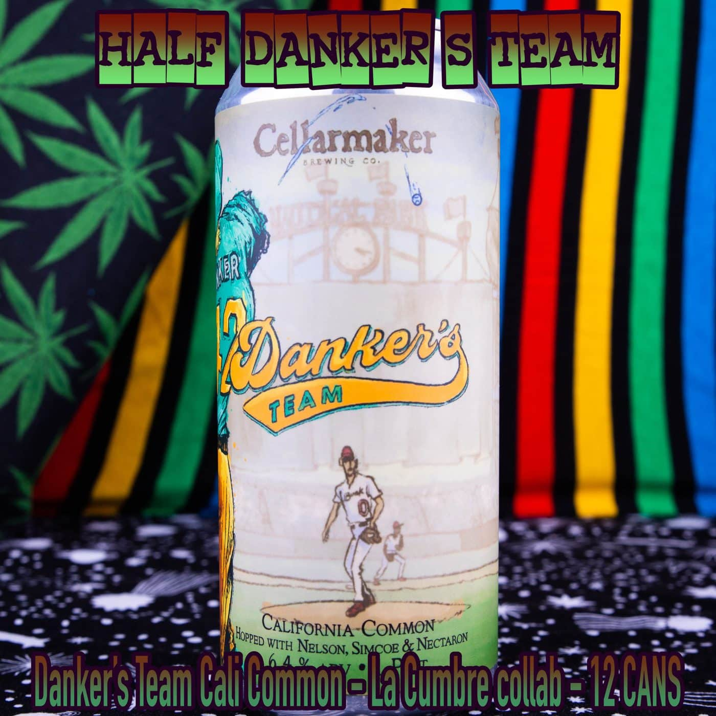 Half Case 12 CANS Danker's Team Cali Common – La Cumbre Collab – Shipping Out Tuesday 4/13 For Next Day Delivery*