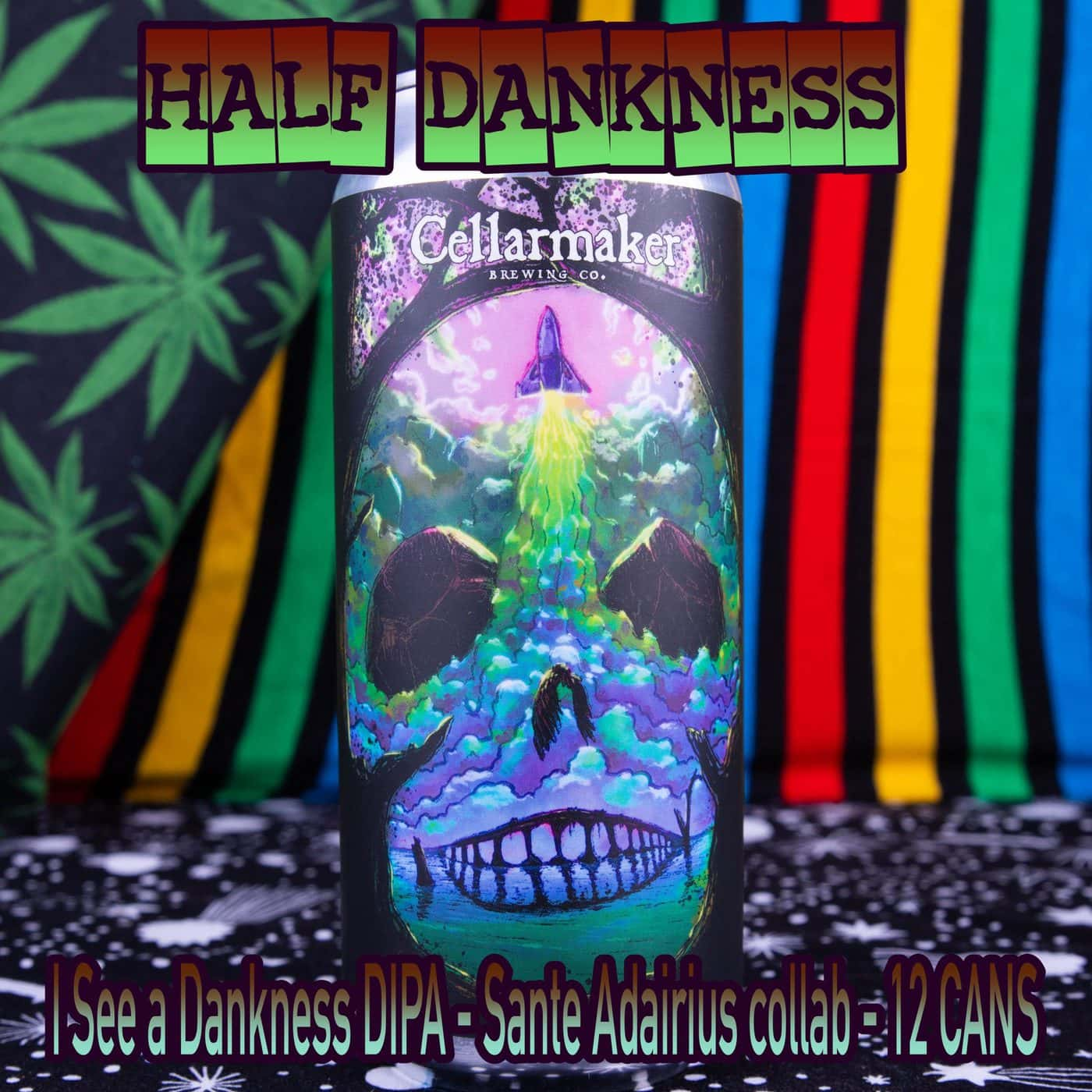 Half Case 12 CANS I See A Dankness DIPA – Sante Adairius Collab – Shipping Out Tuesday 4/13 For Next Day Delivery*