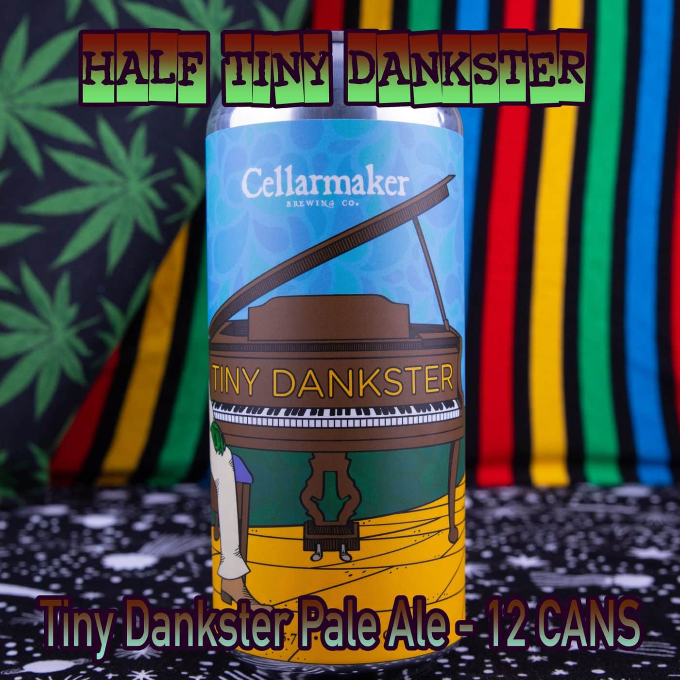 Half Case 12 CANS Tiny Dankster Pale Ale – Shipping Out Tuesday 4/13 For Next Day Delivery*