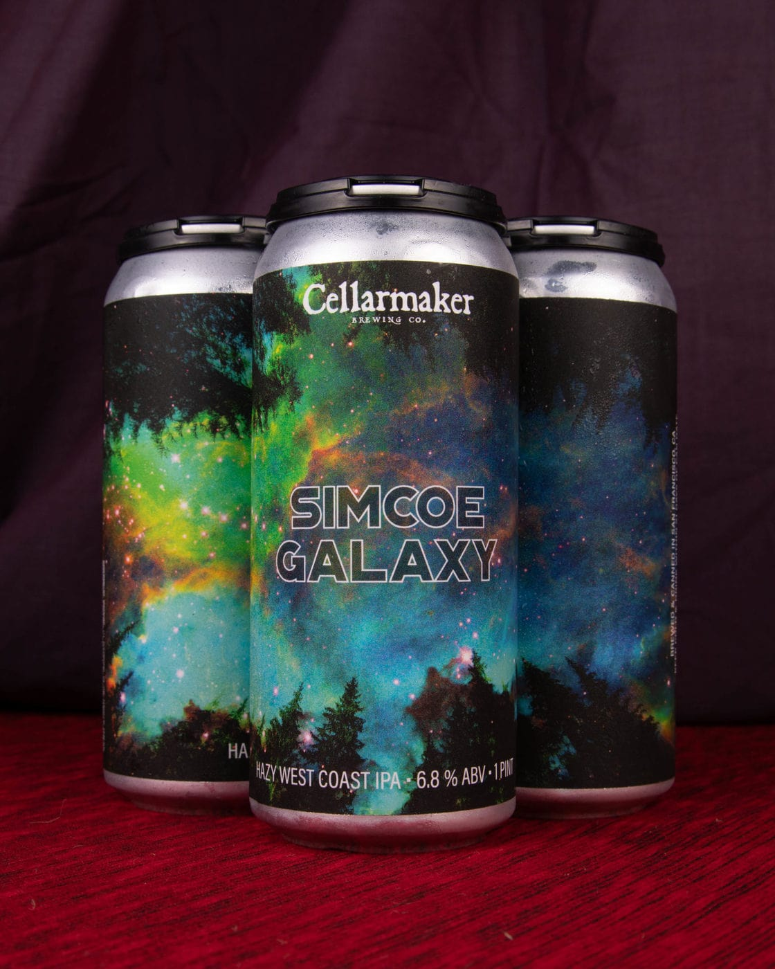 FULL CASE 24 CANS Simcoe Galaxy IPA – Shipping Out Wednesday 7/28 For Next Day Delivery*