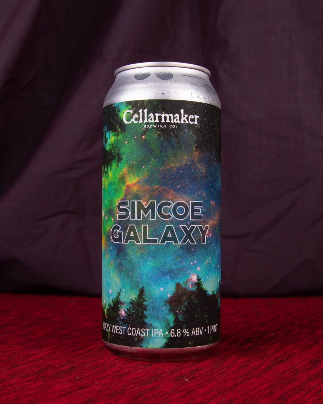 Half Case 12 CANS Simcoe Galaxy IPA- Shipping Out Wednesday 7/28 For Next Day Delivery*