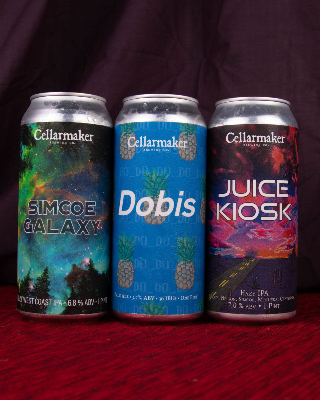 Half Case 12 Beers – 4 Simcoe Galaxy IPA, 4 Dobis Pale Ale And 4 Juice Kiosk – Shipping Out Wednesday 7/28 For Next Day Delivery*
