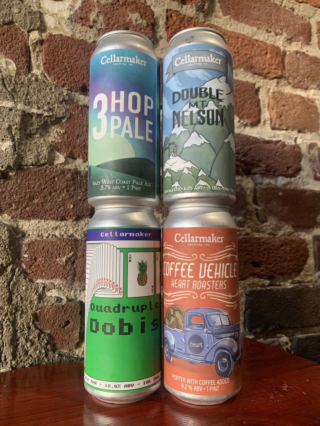 Mix And Match – 16 Cans (4 X 4 Packs) – 4×4 CASE – Shipping Out ASAP*